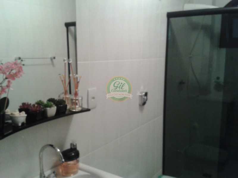 Banheiro1 - Casa em Condomínio 4 quartos à venda Pechincha, Rio de Janeiro - R$ 650.000 - CS2187 - 15