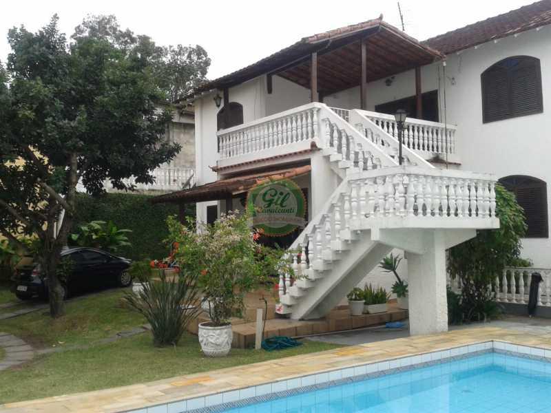 Quintal  - Casa em Condomínio 4 quartos à venda Pechincha, Rio de Janeiro - R$ 650.000 - CS2187 - 23