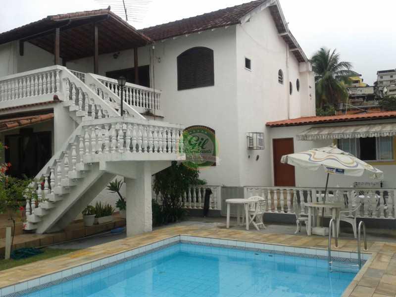 Fachada  - Casa em Condomínio 4 quartos à venda Pechincha, Rio de Janeiro - R$ 650.000 - CS2187 - 1