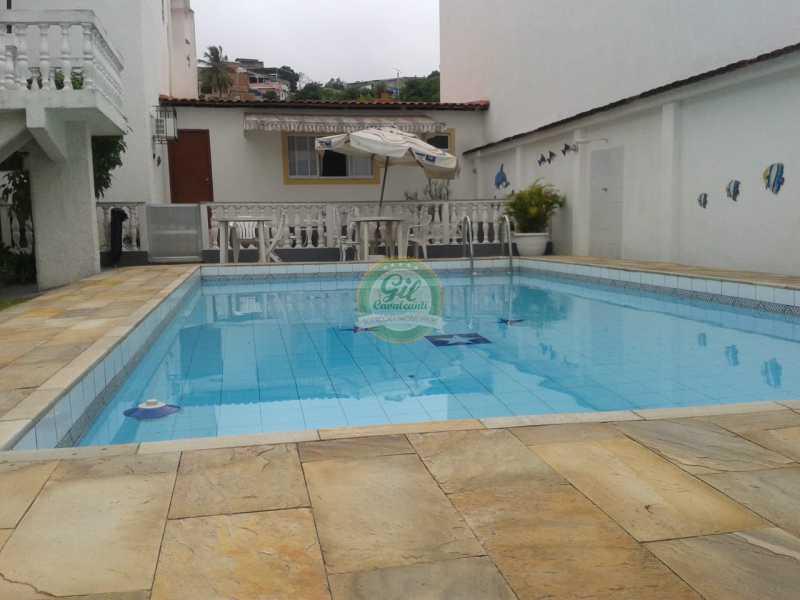 Piscina  - Casa em Condomínio 4 quartos à venda Pechincha, Rio de Janeiro - R$ 650.000 - CS2187 - 24
