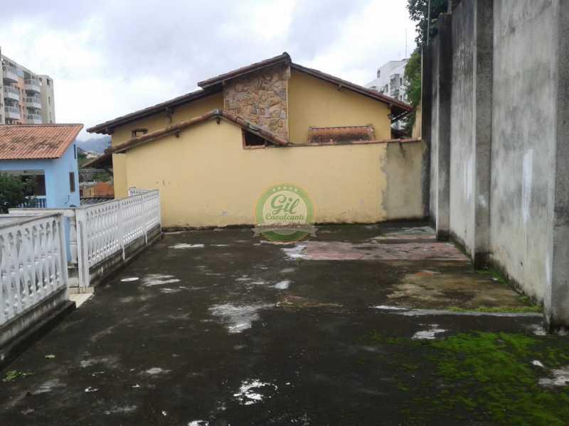 Terraço  - Casa em Condominio Pechincha,Rio de Janeiro,RJ À Venda,3 Quartos,178m² - CS2188 - 21