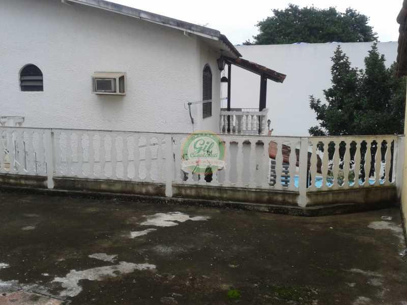 Terraço - Casa em Condominio Pechincha,Rio de Janeiro,RJ À Venda,3 Quartos,178m² - CS2188 - 22