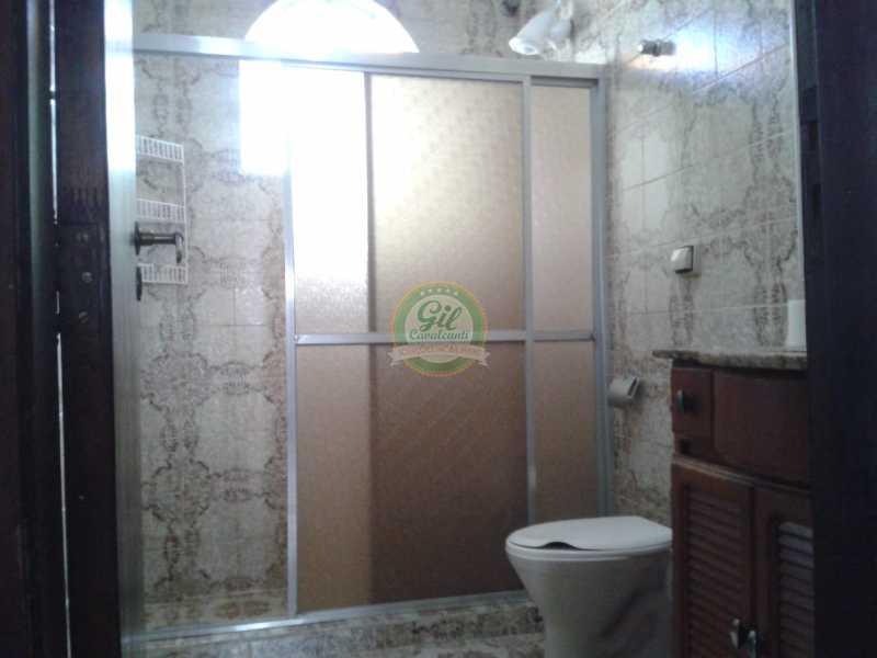 Banheiro  - Casa em Condominio Pechincha,Rio de Janeiro,RJ À Venda,3 Quartos,178m² - CS2188 - 12