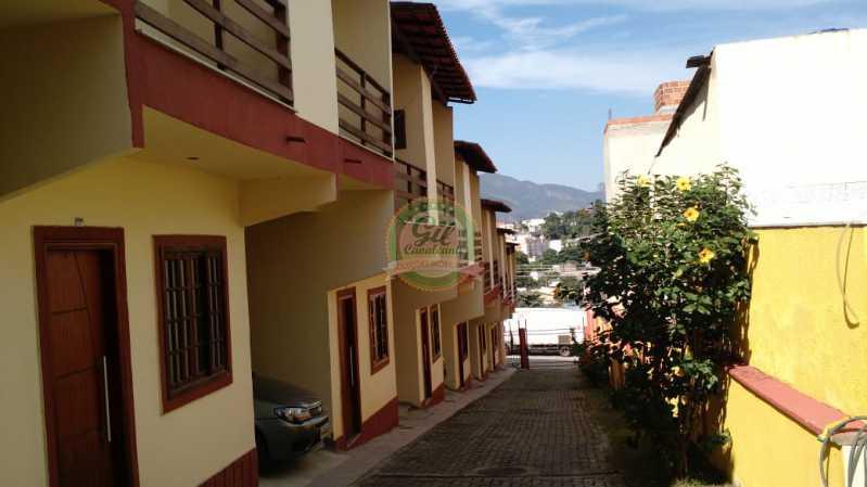 Fachada  - Casa em Condominio Tanque,Rio de Janeiro,RJ À Venda,2 Quartos,81m² - CS2189 - 3
