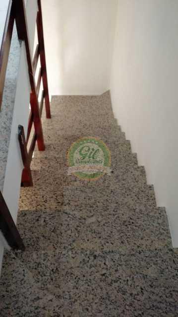 Acesso ao 2º Pavimento - Casa em Condominio Tanque,Rio de Janeiro,RJ À Venda,2 Quartos,81m² - CS2189 - 12
