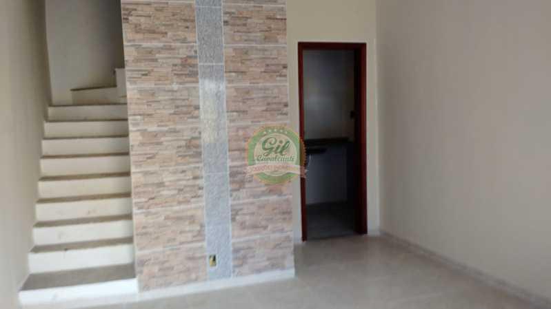 Sala  - Casa em Condominio Tanque,Rio de Janeiro,RJ À Venda,2 Quartos,81m² - CS2189 - 10