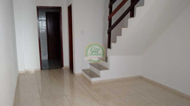 Sala  - Casa em Condominio Tanque,Rio de Janeiro,RJ À Venda,2 Quartos,81m² - CS2189 - 8