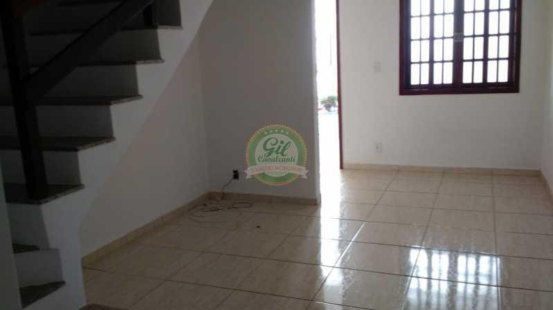 Sala  - Casa em Condominio Tanque,Rio de Janeiro,RJ À Venda,2 Quartos,81m² - CS2189 - 7