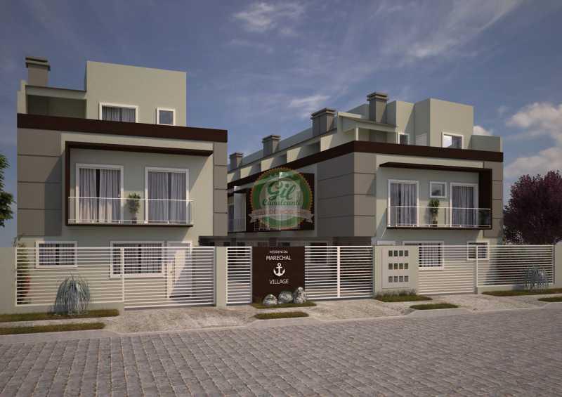 1 - Casa em Condominio Marechal Hermes,Rio de Janeiro,RJ À Venda,2 Quartos - LA0027 - 1