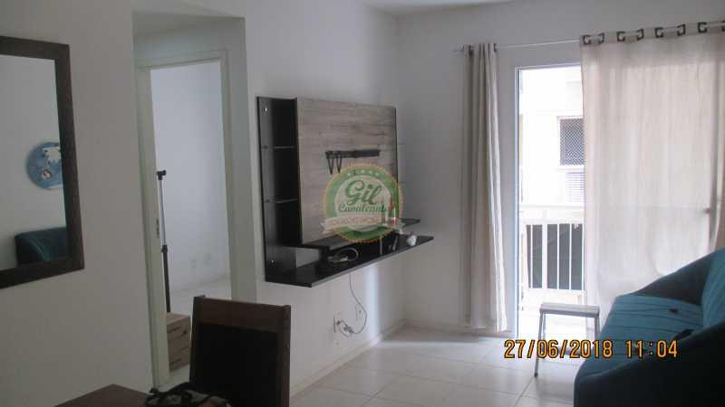 01-Sala - Apartamento À VENDA, Pechincha, Rio de Janeiro, RJ - AP1721 - 3