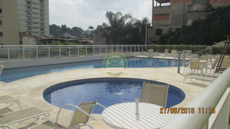 40-Piscina - Apartamento À VENDA, Pechincha, Rio de Janeiro, RJ - AP1721 - 18