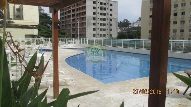 41-Piscina - Apartamento À VENDA, Pechincha, Rio de Janeiro, RJ - AP1721 - 1