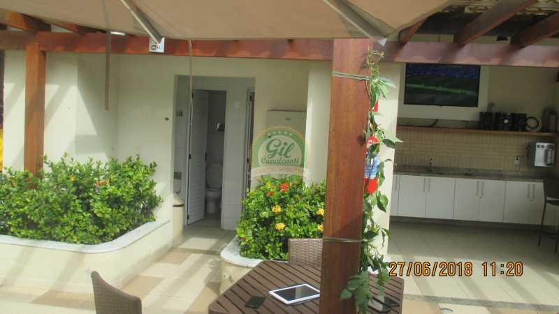 49-Espaço Gourmet - Apartamento À VENDA, Pechincha, Rio de Janeiro, RJ - AP1721 - 24