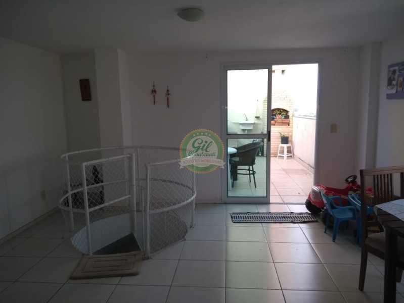 2ª Sala  - Cobertura 2 quartos à venda Taquara, Rio de Janeiro - R$ 380.000 - CB0194 - 3