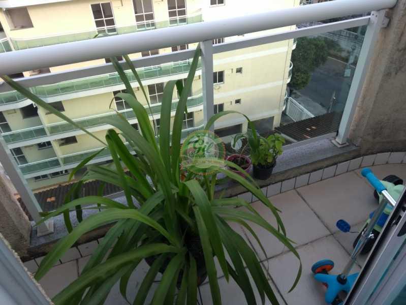 Varanda 1º Pavimento - Cobertura 2 quartos à venda Taquara, Rio de Janeiro - R$ 380.000 - CB0194 - 5