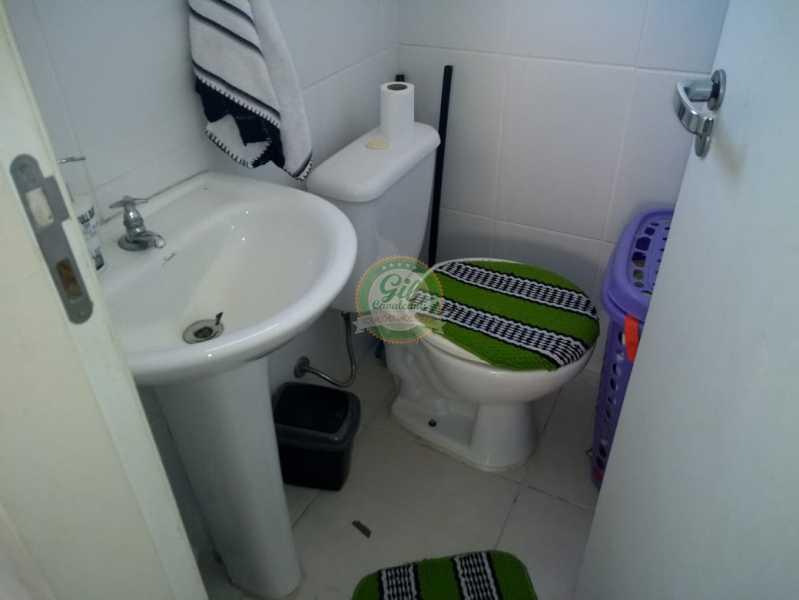 Banheiro - Cobertura 2 quartos à venda Taquara, Rio de Janeiro - R$ 380.000 - CB0194 - 12