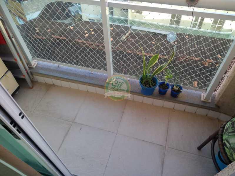 Varanda 1º Pavimento - Cobertura 2 quartos à venda Taquara, Rio de Janeiro - R$ 380.000 - CB0194 - 9