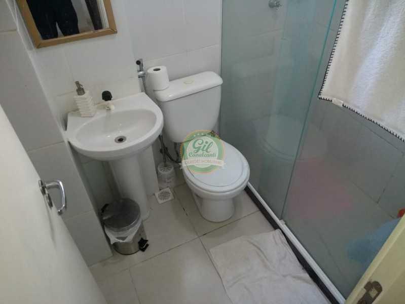 Banheiro  - Cobertura 2 quartos à venda Taquara, Rio de Janeiro - R$ 380.000 - CB0194 - 13