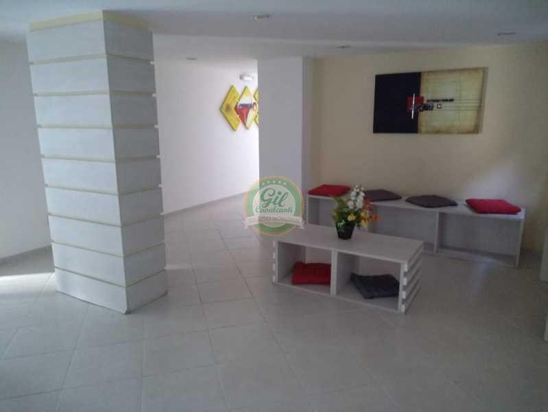 Condomínio - Salão de festas  - Cobertura 2 quartos à venda Taquara, Rio de Janeiro - R$ 380.000 - CB0194 - 19