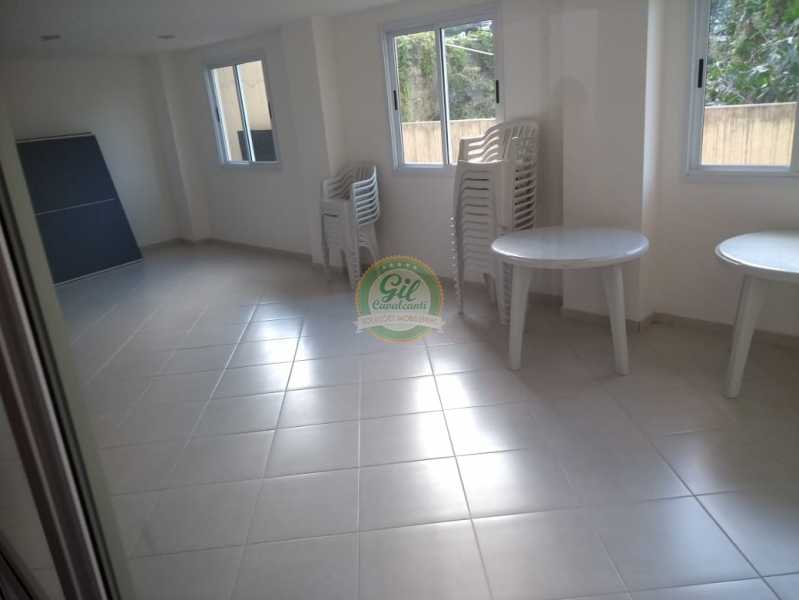 Condomínio - Salão de festas  - Cobertura 2 quartos à venda Taquara, Rio de Janeiro - R$ 380.000 - CB0194 - 20