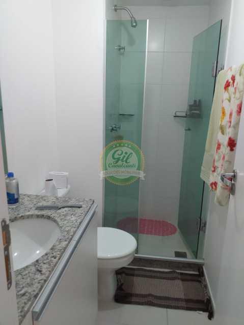 Banheiro - Cobertura Taquara,Rio de Janeiro,RJ À Venda,3 Quartos,127m² - CB0196 - 11