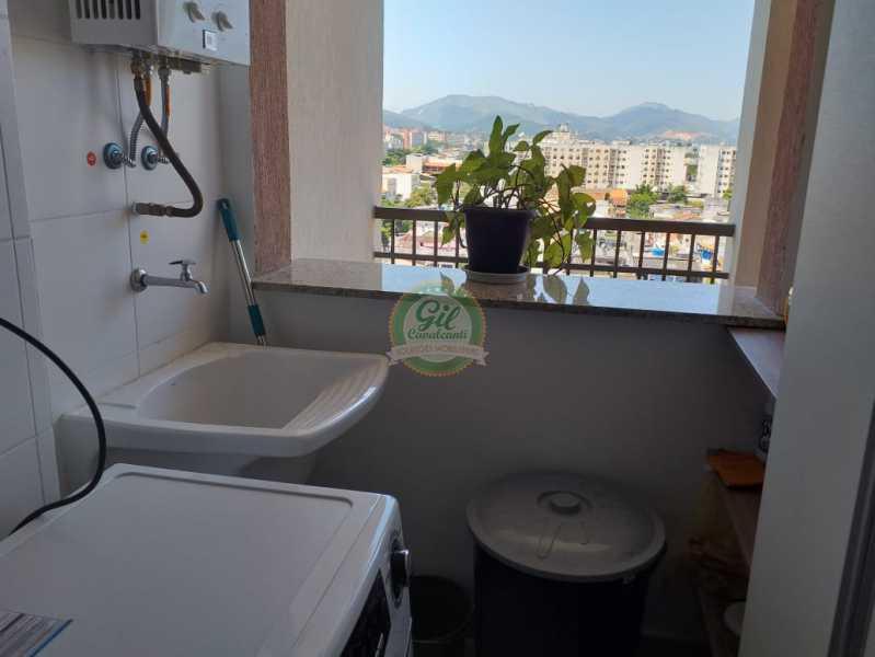 Área de serviço - Cobertura Taquara,Rio de Janeiro,RJ À Venda,3 Quartos,127m² - CB0196 - 7