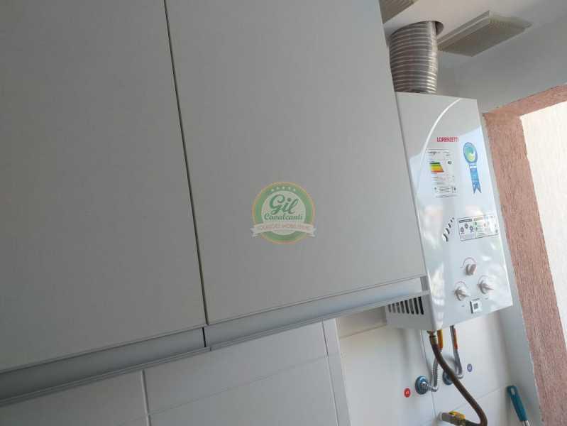 Cozinha/aquecedor - Cobertura Taquara,Rio de Janeiro,RJ À Venda,3 Quartos,127m² - CB0196 - 8