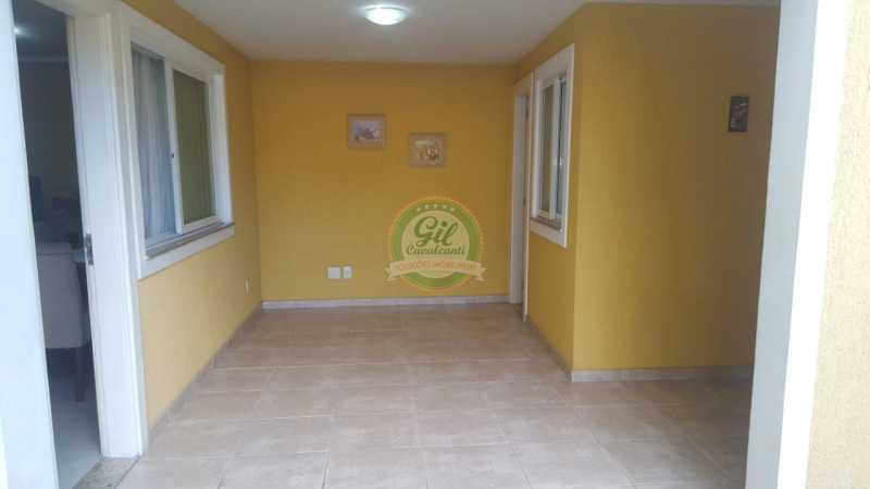 Entrada  - Casa em Condomínio 2 quartos à venda Taquara, Rio de Janeiro - R$ 429.000 - CS2201 - 5