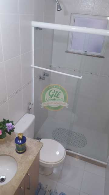 Banheiro social  - Casa em Condomínio 2 quartos à venda Taquara, Rio de Janeiro - R$ 429.000 - CS2201 - 6
