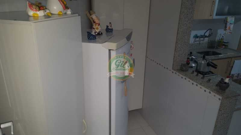 Cozinha  - Casa em Condomínio 2 quartos à venda Taquara, Rio de Janeiro - R$ 429.000 - CS2201 - 9