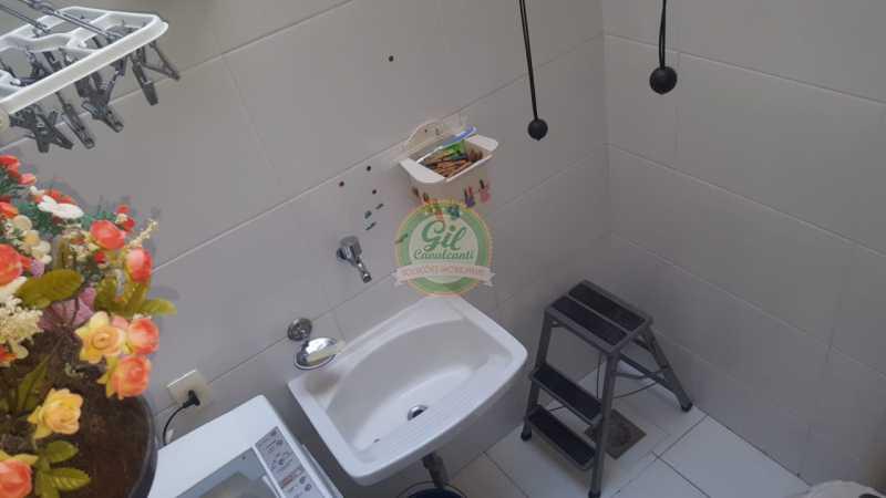 Área de serviço - Casa em Condominio À VENDA, Taquara, Rio de Janeiro, RJ - CS2201 - 10