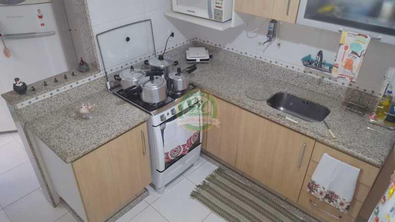 Cozinha - Casa em Condomínio 2 quartos à venda Taquara, Rio de Janeiro - R$ 429.000 - CS2201 - 7