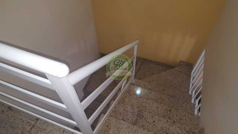 Acesso 2º Pavimento - Casa em Condomínio 2 quartos à venda Taquara, Rio de Janeiro - R$ 429.000 - CS2201 - 11