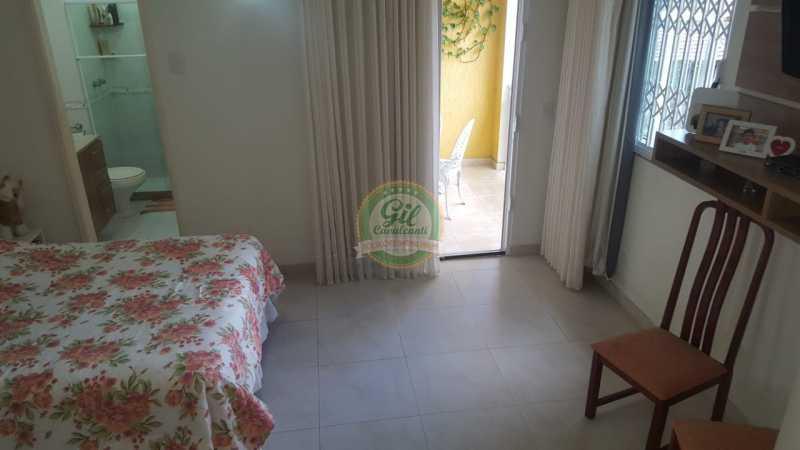 Suíte master  - Casa em Condomínio 2 quartos à venda Taquara, Rio de Janeiro - R$ 429.000 - CS2201 - 16