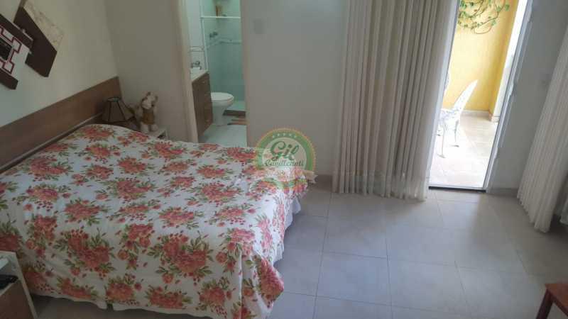 Suíte master  - Casa em Condomínio 2 quartos à venda Taquara, Rio de Janeiro - R$ 429.000 - CS2201 - 17