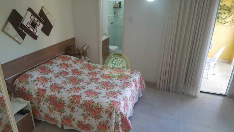 Suíte master  - Casa em Condomínio 2 quartos à venda Taquara, Rio de Janeiro - R$ 429.000 - CS2201 - 18