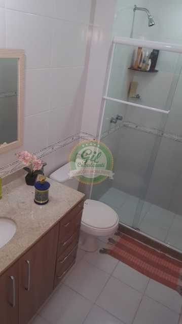 Banheiro Suíte master  - Casa em Condomínio 2 quartos à venda Taquara, Rio de Janeiro - R$ 429.000 - CS2201 - 20