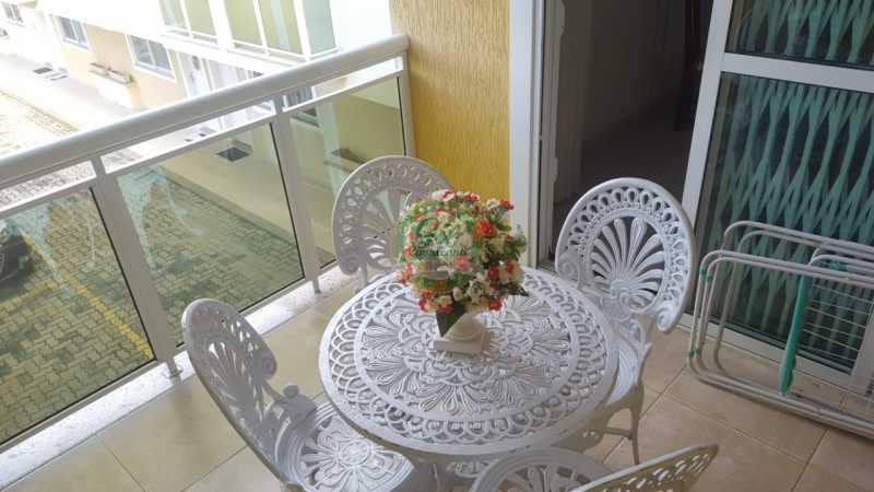 Varanda Suíte master  - Casa em Condomínio 2 quartos à venda Taquara, Rio de Janeiro - R$ 429.000 - CS2201 - 21