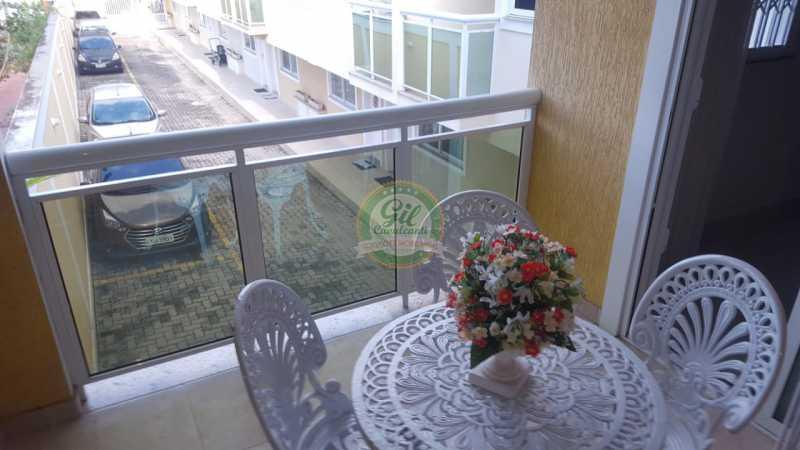 Varanda Suíte master  - Casa em Condomínio 2 quartos à venda Taquara, Rio de Janeiro - R$ 429.000 - CS2201 - 22