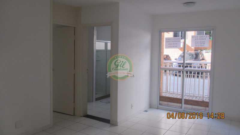 Sala - Apartamento Taquara,Rio de Janeiro,RJ À Venda,1 Quarto,47m² - AP1734 - 1