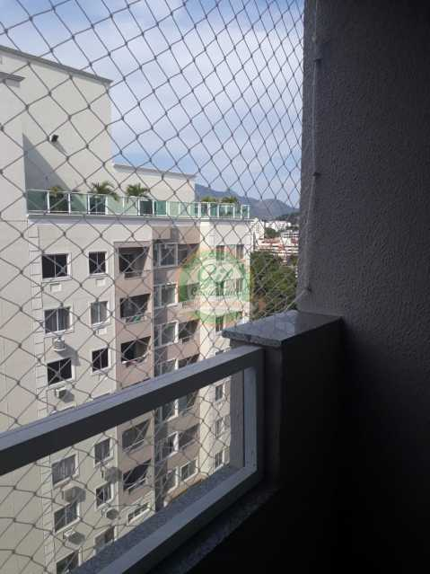Varanda  - Apartamento Pechincha,Rio de Janeiro,RJ À Venda,2 Quartos,50m² - AP1735 - 4
