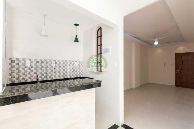 Sala/cozinha - Apartamento À VENDA, Glória, Rio de Janeiro, RJ - AP1739 - 7