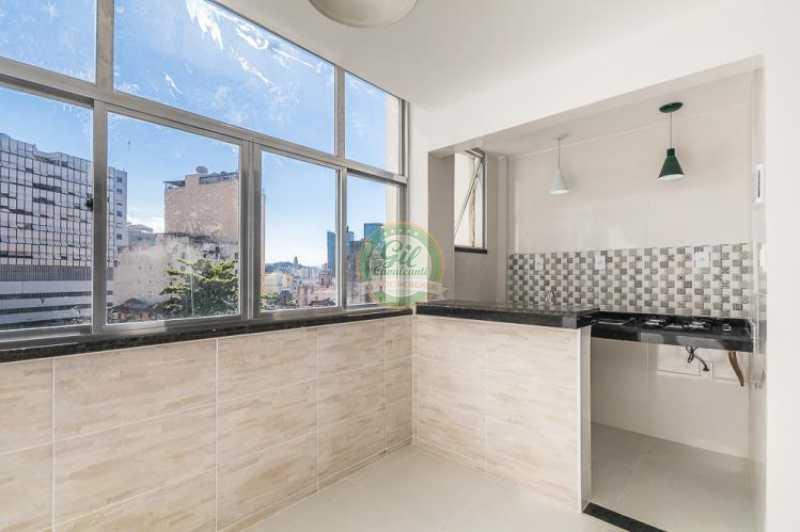 Cozinha - Apartamento À VENDA, Glória, Rio de Janeiro, RJ - AP1739 - 8