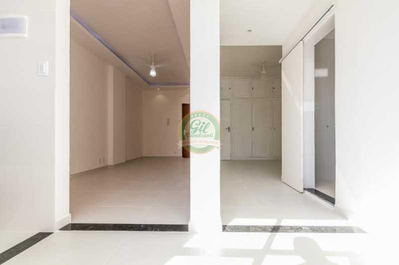 Visão da cozinha - Apartamento À VENDA, Glória, Rio de Janeiro, RJ - AP1739 - 15