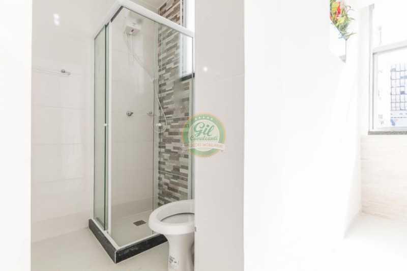 Banheiro social - Apartamento À VENDA, Glória, Rio de Janeiro, RJ - AP1739 - 21
