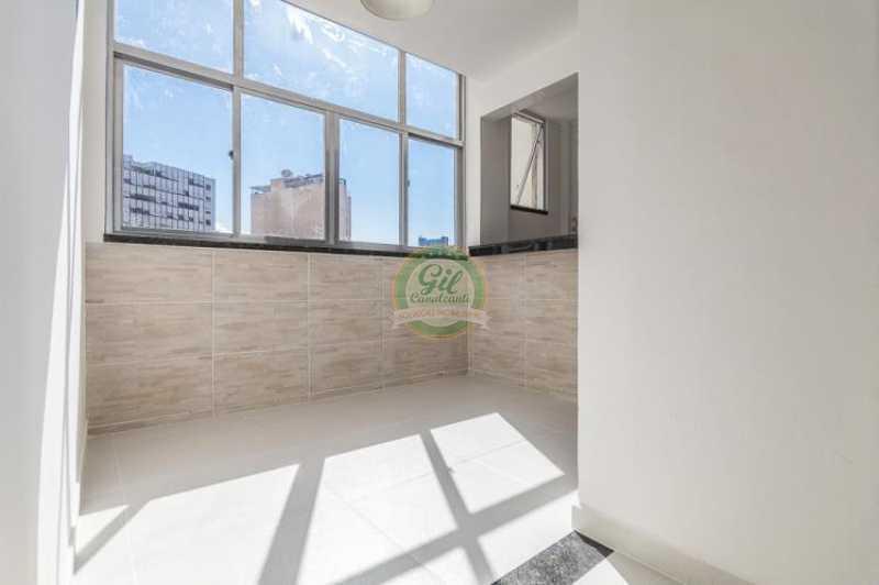 Cozinha - Apartamento À VENDA, Glória, Rio de Janeiro, RJ - AP1739 - 11