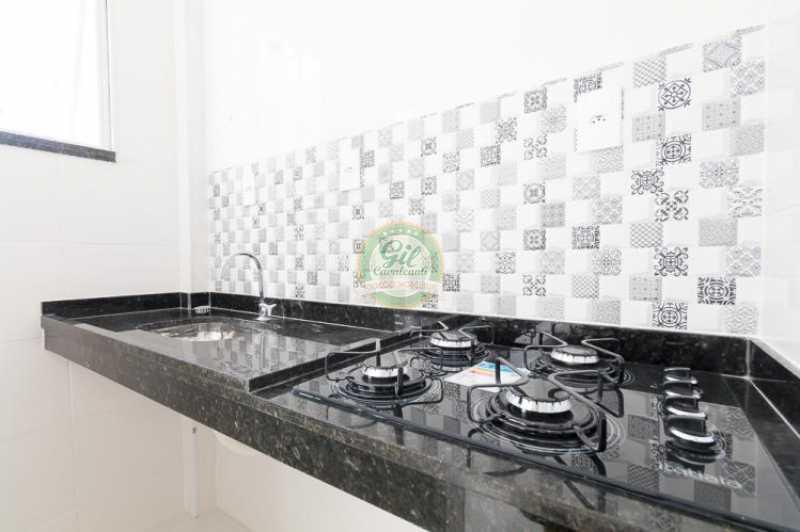 Cozinha - Apartamento À VENDA, Glória, Rio de Janeiro, RJ - AP1739 - 12