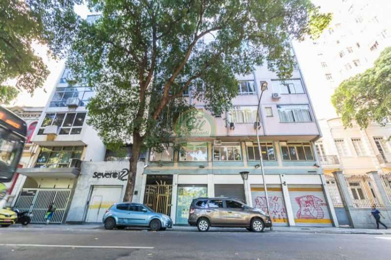 Fachada  - Apartamento À VENDA, Glória, Rio de Janeiro, RJ - AP1739 - 23