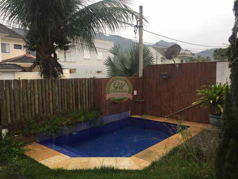 Piscina  - Casa em Condomínio 4 quartos à venda Vargem Pequena, Rio de Janeiro - R$ 900.000 - CS2210 - 14