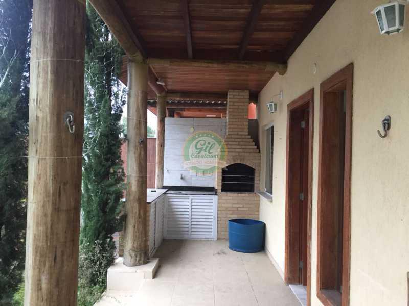 Churrasqueira - Casa em Condomínio 4 quartos à venda Vargem Pequena, Rio de Janeiro - R$ 900.000 - CS2210 - 15